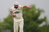 Monty Panesar of Hornchurch during Shenfield CC (batting) vs Hornchurch CC (Bowling) ,Shepherd Neame Essex League Cricket at Chelmsford Road on 12th May 2018