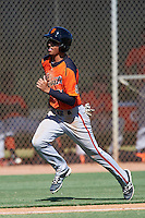 San Francisco Giants Malique Ziegler (29) during an Instructional League game against the Chicago White Sox on October 10, 2016 at the Camelback Ranch Complex in Glendale, Arizona.  (Mike Janes/Four Seam Images)
