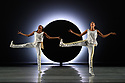 London, UK. 04.09.2019. Following its recent 60th anniversary, Alvin Ailey American Dance Theater brings its 32 dancers to Sadler's Wells, presenting a series of new works alongside modern classics in three mixed programmes, from 4th - 14th September. The piece shown is: EN, choreographed by Jessica Lang. The dancers are: Daniel Harder, Ghrai DeVore-Stokes, Chalvar Monteiro, Sarah Daley-Perdomo, Kanji Segawa, Jacquelin Harris, Matthew Rushing, Akua Noni Parker, Jermaine Terry, Jacqueline Gren, Jeroboam Bozeman, Belen Indhira Pereyra, Renaldo Maurice. Photograph © Jane Hobson.