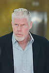 Ron Perlman arrives at the Grimaldi Forum during the 55th Festival TV in Monte-Carlo on June 15, 2015 in Monte-Carlo, Monaco.