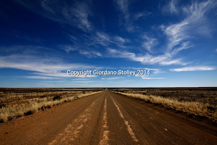 BRANDVLEI - 9 July 2014 - Wide open spaces and long distances and perpetually rain free skies ar to be seen on the R357 near the Northern Cape town of Brandvlei. Picture: Allied Picture Press/APP