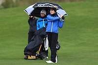 Nicole Joyce Moreno (Royal Portrush) on the 1st fairway during Round 1 of the Irish Girls U18 Open Stroke Play Championship at Roganstown Golf &amp; Country Club, Dublin, Ireland. 05/04/19 <br /> Picture:  Thos Caffrey / www.golffile.ie