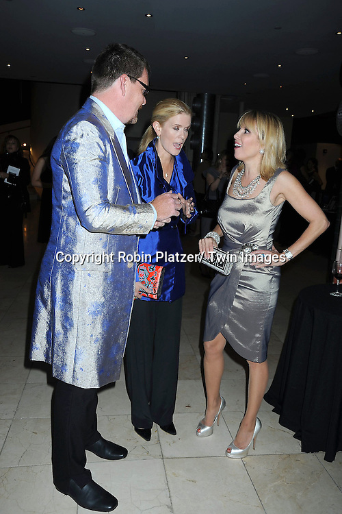 Simon van Kempen, Alex McCord and Ramona Singer attending The Catalogue for Giving of New York City 15th Annual Urban Heroes Awards Benefit on October 27, 2010 at .Guastavinos in New York City.