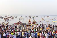 28 sept 2015 - Ganesha Festival Concludes in Mumbai INDIA