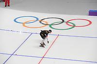 OLYMPIC GAMES: PYEONGCHANG: 10-02-2018, Gangneung Oval, Long Track, 3000m Ladies, Claudia Pechstein (GER), ©photo Martin de Jong