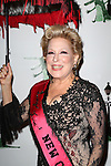 """Bette Midler  attending Bette Midler's New York Restoration Project's Annual """"Hulaween in the Big Easy"""" at  the Waldorf Astoria on October 31, 2013  in New York City."""