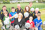 ON THE BALL: Members of the South Kerry Sports Centre in Caherciveen who are asking the public to support their Soccer Summer Camps..Front L/r. Conor Stapleton, Mark Quigley, Bridie O'Shea, Sean Sullivan , Niall Brennan..Back L/r. Matt Quirke, Mick O'Shea, Heather O'Sullivan, Brian O'Connor and Junior Murphy.   Copyright Kerry's Eye 2008