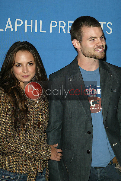 Rachel Leigh Cook and Daniel Gillies<br />