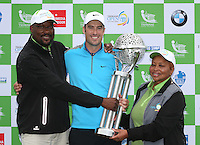 ROSS FISHER pictured with Tshwane delegates, wins the Final Round of The Tshwane Open 2014 at the Els (Copperleaf) Golf Club, City of Tshwane, Pretoria, South Africa. Picture:  David Lloyd / www.golffile.ie