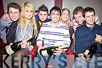 Key to the Door - Alex Mann from Ballyard, seated centre, pictured celebrating his 21st birthday with friends in O'Donnell's of Mounthawk on Saturday night. Seated l/r Emma Lyons, Alex Mann and Paddy Mann, standing l/r Alan Johnson, Rory O'Donnell, Katie Dillane and Des McCormack............................................................................................................................................................................................................................................................................................ ............