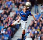 Kenny Miller heads in goal no 2 for Rangers
