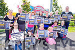 Protest against animal cruelty at the Circus was held at Dan Spring Road on Saturday Front left to right, Emma Pierse, Shannon Fitzgerald, Ciara Sayers, Ashling Sayers, Ally Hogan O'Curry, Amber Mothersoul, Back left to right, Caroline Fitzgerald, Mike Burke, Caroline O'Sullivan, Linda Graham, Catriona Graham, Mary Ellen Fitzgerald, Justine Foley, Neville Sayers, Vincent O'Brien, Christine Foley