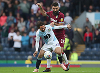 Blackburn Rovers' Bradley Dack and Aston Villa's Mile Jedinak<br /> <br /> Photographer Rachel Holborn/CameraSport<br /> <br /> The EFL Sky Bet Championship - Blackburn Rovers v Aston Villa - Saturday 15th September 2018 - Ewood Park - Blackburn<br /> <br /> World Copyright &copy; 2018 CameraSport. All rights reserved. 43 Linden Ave. Countesthorpe. Leicester. England. LE8 5PG - Tel: +44 (0) 116 277 4147 - admin@camerasport.com - www.camerasport.com
