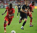América de Cali perdió por 1-2 con Atlético de Madrid, la tarde del sábado y en juego amistoso internacional disputado en el estadio 'Pascual Guerrero'.
