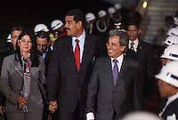 LIMA,PER&Uacute;-18/04/2013. Arribo del Presidente de Venezuela, Nicolas Maduro, para la reuni&oacute;n UNASUR en Palacio de Gobierno.<br /> &copy; ANDINA/OscarFarje/NortePhoto