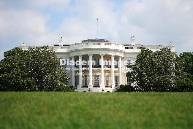 The White House, Washington, DC. (Photograph by Jonathan P. Larsen)