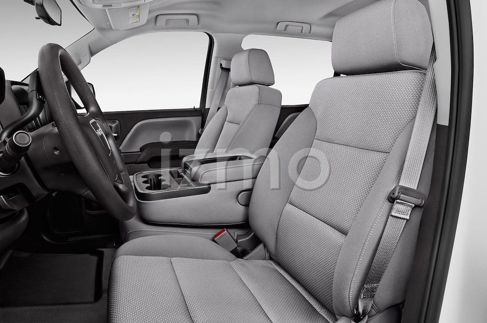 Front seat view of 2016 GMC Sierra 1500 2WD Crew Cab Short Box 4 Door Pick-up Front Seat  car photos