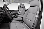 Front seat view of 2018 GMC Sierra 1500 2WD Crew Cab Short Box 4 Door Pick-up Front Seat  car photos