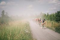 Timothy Dupont (BEL/Wanty Groupe Gobert)<br /> <br /> 3rd Dwars Door Het hageland 2018 (BEL)<br /> 1 day race:  Aarschot > Diest: 198km