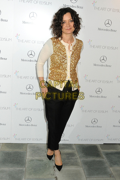 11 January 2014 - Los Angeles, California - Sara Gilbert. 7th Annual Art of Elysium Heaven Gala held at the Skirball Cultural Center.  <br /> CAP/ADM/BP<br /> &copy;Byron Purvis/AdMedia/Capital Pictures