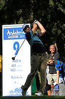 Oliver Wilson (ENG) during the final day of the  Andalucía Masters at Club de Golf Valderrama, Sotogrande, Spain. .Picture Denise Cleary www.golffile.ie