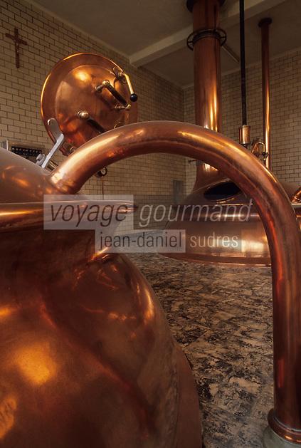 Europe/Belgique/Wallonie/Province de Hainaut/Env de Chimay : Abbaye de Scourmont - La brasserie-Bière Trappiste