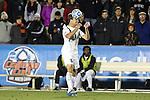 12 December 2014: Providence's Thomas Ballenthin. The University of California Los Angeles Bruins played the Providence College Friars at WakeMed Stadium in Cary, North Carolina in a 2014 NCAA Division I Men's College Cup semifinal match.