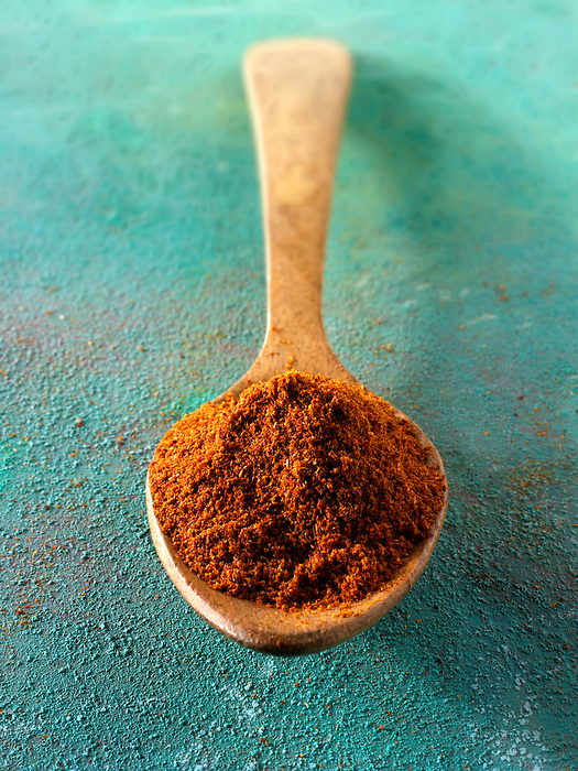 Ground chilli powder spice