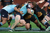 June 3rd 2017, FMG Stadium, Waikato, Hamilton, New Zealand; Super Rugby; Chiefs versus Waratahs;  Waratahs captain Michael Hooper with a strong carry during the Super Rugby rugby match