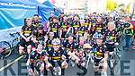 Cyclists from Glin who took part in the Ring of Beara Cycle, which started in Kenmare town, on Saturday morning last.