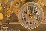 mechanical clock timepiece at Exploratorium The Museum of Science,Art, and Human Perception in San Francisco CA USA horizontal