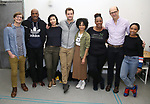 "John McGinty, Kenny Leon, Julee Cerda, Joshua Jackson, Lauren Ridloff, Kecia Lewis, Anthony Edwards and Threshelle Edmond attend the cast photo call for the Broadway Revival of  ""Children of a Lesser God"" on February 22, 2018 at the Roundabout Rehearsal Studios in New York City."