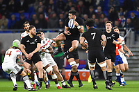 David Havili of New Zealand during the rugby test match between France and New Zealand at Stade des Lumieres on November 14, 2017 in Lyon, France. (Photo by Alexandre Dimou/Icon Sport)