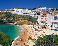 PRT, Portugal, Algarve, Carvoeiro: beliebter Ferienort an der Felsalgarve | PRT, Portugal, Algarve, Carvoeiro: favoured holiday resort at the Algarve