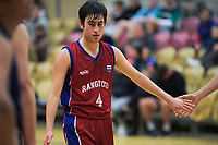 Action from the 2019 Schick AA Boys' National Secondary Schools Basketball Championships 5th place playoff between Rangitoto College and Napier Boys' High School at the Central Energy Trust Arena in Palmerston North, New Zealand on Saturday, 5 October 2019. Photo: Dave Lintott / lintottphoto.co.nz