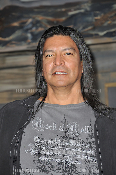 "Gil Birmingham at the Los Angeles premiere of the animated movie ""Rango"" at the Regency Village Theatre, Westwood..February 14, 2011  Los Angeles, CA.Picture: Paul Smith / Featureflash"