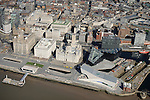 Liverpool Waterfront from the Air