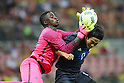 (L to R) <br /> Emmanuel Duniel (NGR), <br /> Shinya Yajima (JPN), <br /> AUGUST 4, 2016 - Football / Soccer : <br /> Men's First Round Group B <br /> between Nigeria 5-4 Japan <br /> at Amazonia Arena <br /> during the Rio 2016 Olympic Games in Manaus, Brazil. <br /> (Photo by YUTAKA/AFLO SPORT)