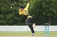 Wellington's Rachin Ravendra bowls during the Ford Trophy One Day match (round five) between Wellington Firebirds and Otago Volts at Bert Sutcliffe Oval in Lincoln, New Zealand on Friday, 29 November 2019. Photo: Martin Hunter / lintottphoto.co.nz
