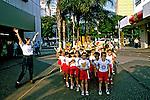 Passeio de escolares em Araçatuba. São Paulo. 1990. Foto de Juca Martins.