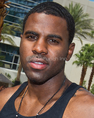 Jason Derulo hosts and performs at Revel Pool Party at Hard Rock Beach Club, also famous for it's Sunday Pool Party known as REHAB at Hard Rock Hotel & Casino in Las Vegas, NV on August 13, 2011. . © Erik Kabik / MediaPunch.***HOUSE COVERAGE***