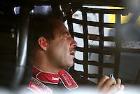 Jun 10, 2016; Englishtown, NJ, USA; NHRA pro stock driver Greg Anderson during qualifying for the Summernationals at Old Bridge Township Raceway Park. Mandatory Credit: Mark J. Rebilas-USA TODAY Sports