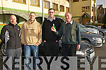 Mark McGrath (Audi Ireland), Harm Dykstra from Killorglin and Fergus and Donie Mannix from Milltown at the INEC The Audi Motorshow and Test Drive Event in Killarney last Sunday.