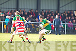 Stephen O'Brien  Kerry in action against Pa Kilkenny Cork IT in the semi final of the McGrath Cup at John Mitchells Grounds on Sunday.