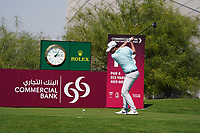 Cormac Sharvin (NIR) on the 18th during Round 1 of the Commercial Bank Qatar Masters 2020 at the Education City Golf Club, Doha, Qatar . 05/03/2020<br /> Picture: Golffile | Thos Caffrey<br /> <br /> <br /> All photo usage must carry mandatory copyright credit (© Golffile | Thos Caffrey)