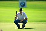 Mark Tullo (CHI) on the 5th green during Day 3 of the BMW Italian Open at Royal Park I Roveri, Turin, Italy, 11th June 2011 (Photo Eoin Clarke/Golffile 2011)