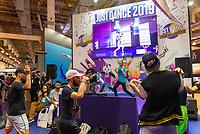 SÃO PAULO, SP, 10.10.2018 - BGS-SP - Público durante a Brasil Game Show, maior feira de games da América Latina no Expo Center Norte no bairro da Vila Guilherme, na região norte da cidade de São Paulo nesta quarta-feira, 10. (Foto: Anderson Lira/Brazil Photo Press)