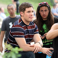NEW YORK, NY July 11, 2017   Adam Devine shooting on location for Newline Cinema film  Isn't It Romantic in Central Park New York July 11, 2017. Credit:RW/MediaPunch