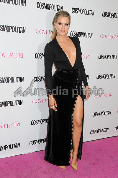 12 October 2015 - Hollywood, California - Khloe Kardashian. Cosmopolitan 50th Birthday Celebration held at Ysabel. Photo Credit: Byron Purvis/AdMedia