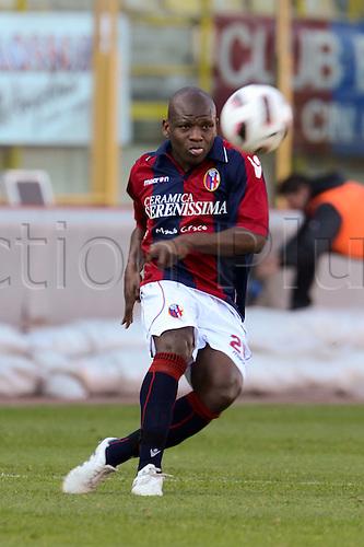 Gaby Mudingayi (Bologna), MARCH 6, 2011 - Football : Italian  Series A  match between Bologna 2-2 Cagliari at Renato Dall'Ara Stadium in Bologna, Italy.
